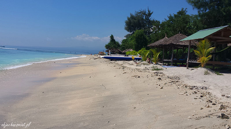 Plaża na Gili Air